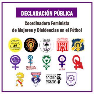 Nace Coordinadora Feminista de Mujeres y Disidencias en el fútbol chileno