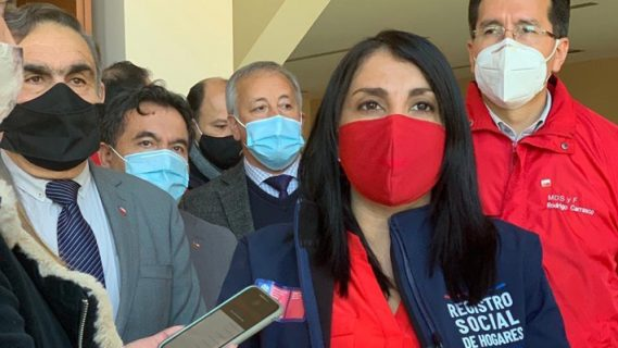 Visita de ministra Rubilar a Füta Trawün fue criticada por falta de representatividad mapuche