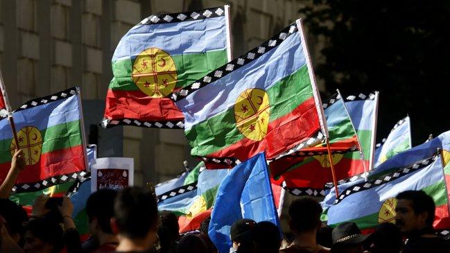 Red de Mujeres Mapuche se manifiesta en repudio a la violencia racista contra su pueblo