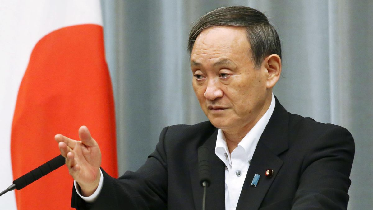 gobierno de japón sucesor abe primer ministro
