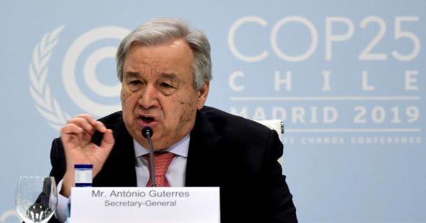 Secretario General de la ONU asevera que la pandemia está fuera de control