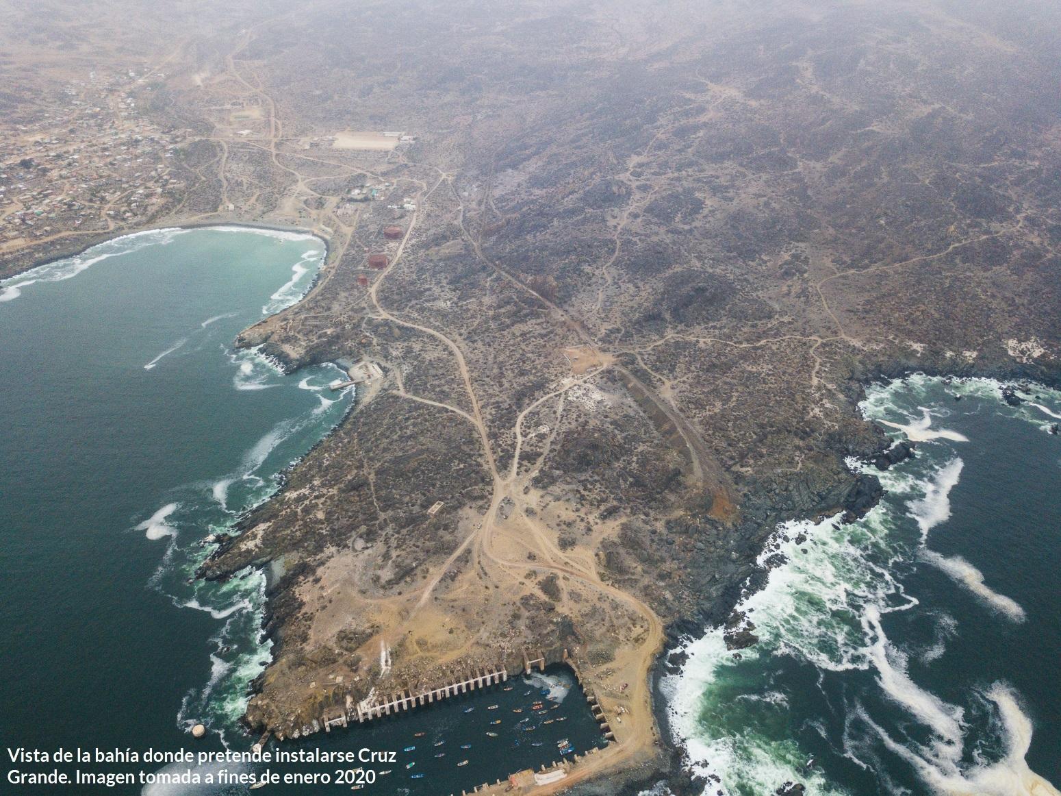 Impugnarán decisión de Superintendencia del Medio Ambiente de no caducar permiso a puerto Cruz Grande en La Higuera