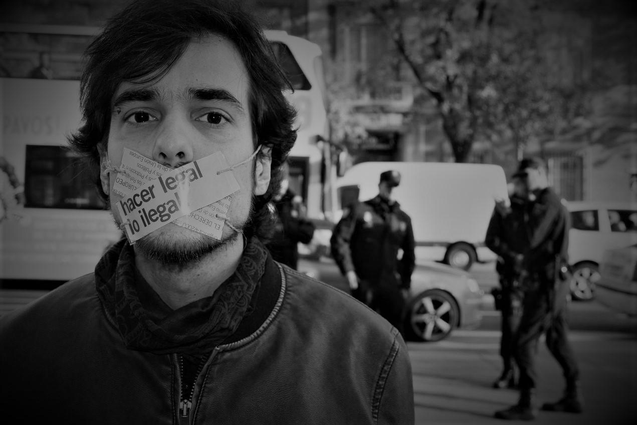 Madrid censura la libertad de expresión para ocultar crisis sanitaria