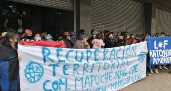 Comunidades mapuche iniciaron recuperación de 13 fundos en Malleco