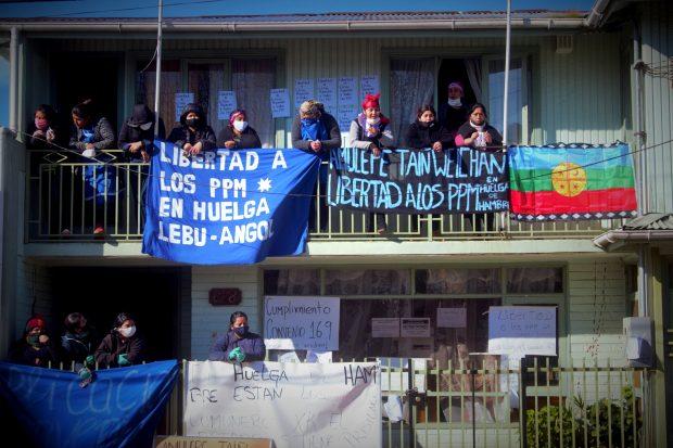 Cuestionan nuevo traslado de presos políticos mapuche a la cárcel de Concepción