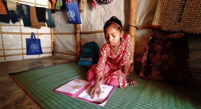 ACNUR: pandemia amenaza potencial de millones de niños y jóvenes refugiados