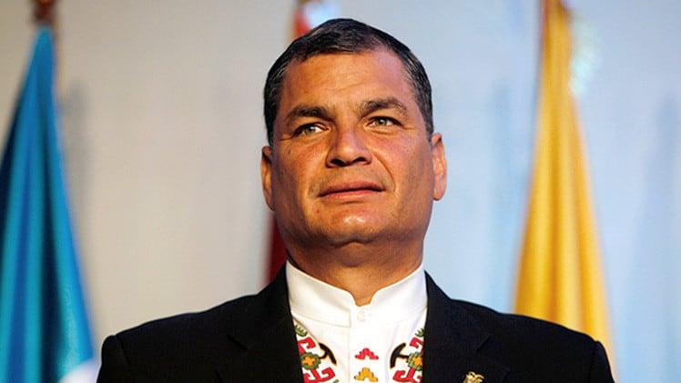 Eliminan el partido de Rafael Correa a dos días de la inscripción de candidaturas en Ecuador