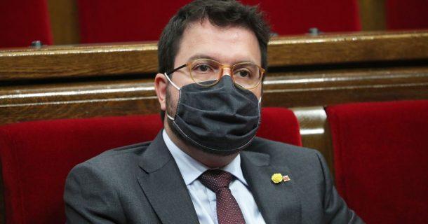 El Gobierno de Cataluña nombra al vicepresidente Pere Aragonès sustituto de Quim Torra