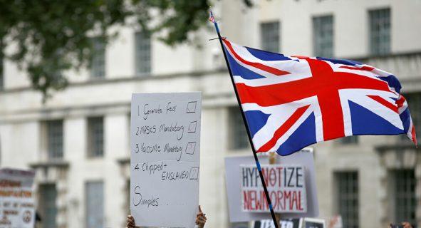 La COVID-19 y el Brexit debilitan la autoridad del Gobierno británico