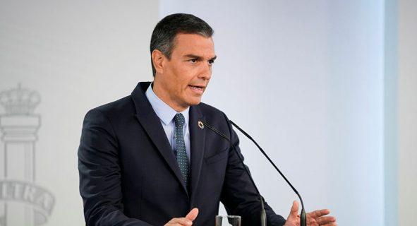 Pedro Sánchez defiende confinamiento perimetral para frenar la covid-19 en Madrid
