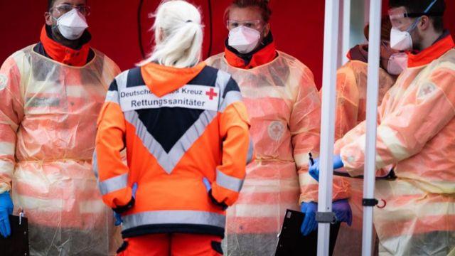 Alemania registra nuevo récord de infectados por coronavirus