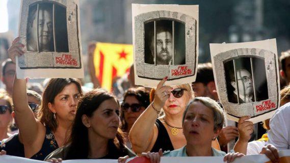 A un año de su condena: políticos catalanes presos reafirman su deseo de separarse de España