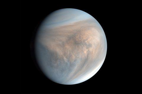 Imágenes inéditas del planeta Venus tomadas por una nave rusa (+Fotos)
