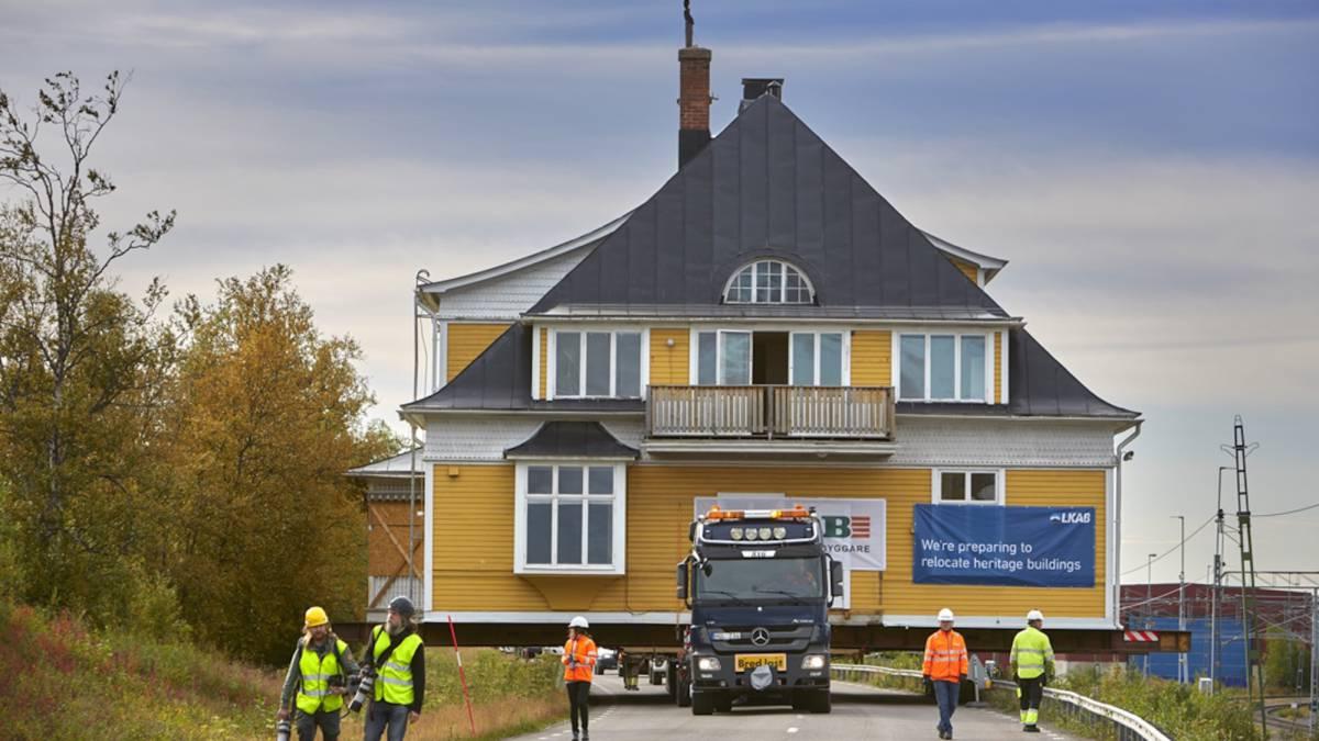 """¡Increíble! Suecia """"moverá"""" de lugar una ciudad para evitar que se hunda"""