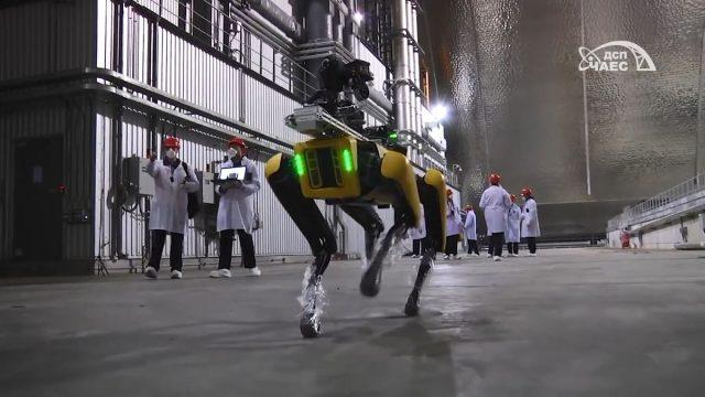 (Video) Boston Dynamics mide radiación en central nuclear de Chernóbil
