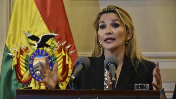 Presidenta de facto de Bolivia, Jeanine Áñez, reconoce y corrobora el triunfo electoral del MAS