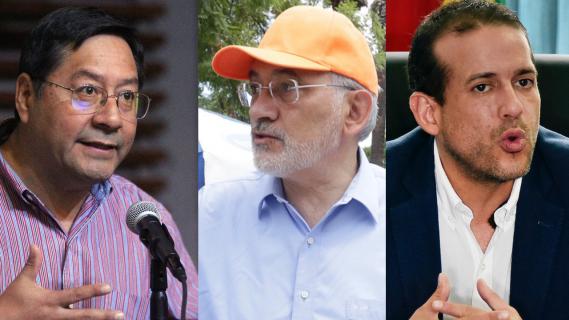 Candidatos presidenciales en Bolivia dan su último discurso ante el cierre de campaña