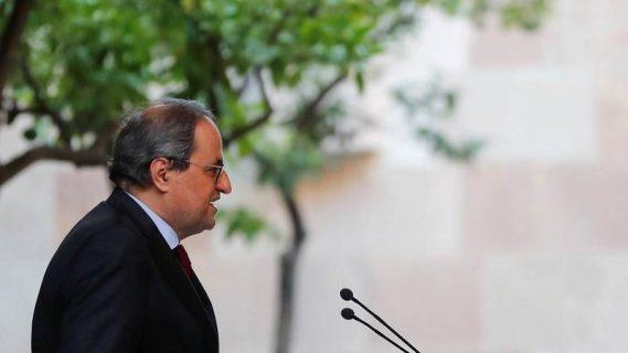 El Tribunal Constitucional rechaza suspender la inhabilitación del presidente catalán