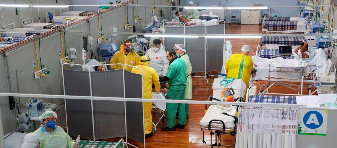 Brasil rebasó los cinco millones de contagios por Covid-19