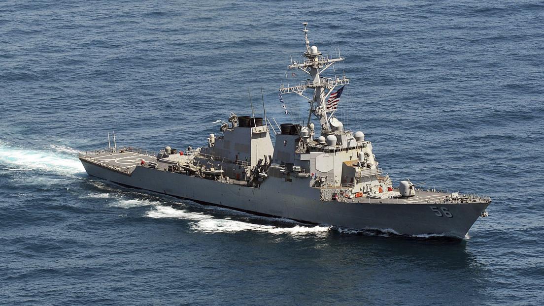 China denuncia entrada de buque de guerra por parte de EE.UU. en sus aguas del mar Meridional