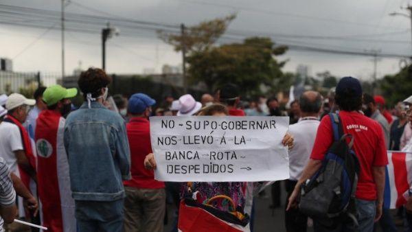 Suspenden bloqueos de carretera en Costa Rica para expresar disposición al diálogo con el Gobierno