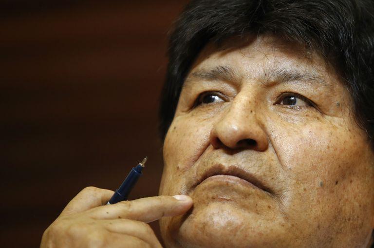Tras casi un año de asilo en Argentina Evo Morales viajó a Venezuela