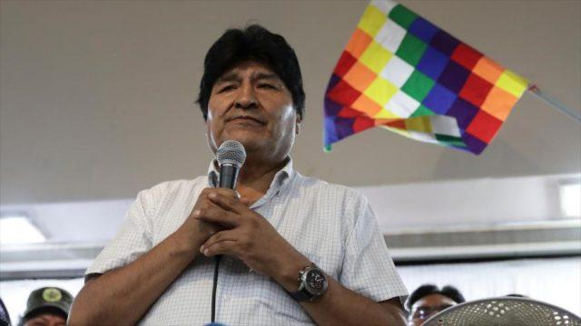 Dirigente Andrónico Rodríguez anuncia que Evo Morales regresará a Bolivia el 9 de noviembre