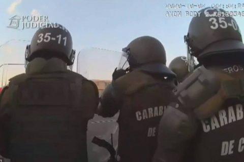 Carabineros dio de baja a funcionario imputado por empujar a menor de edad al Río Mapocho