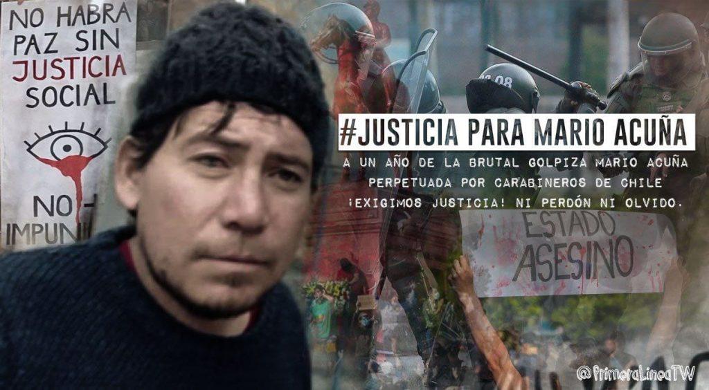 #Justicia para Mario Acuña: familia de la víctima de Carabineros convocó tuitazo nacional