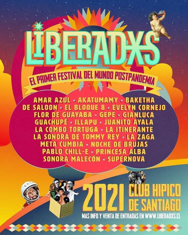 """""""Liberadxs"""": Lanzan el primer festival de música post pandemia en Chile"""