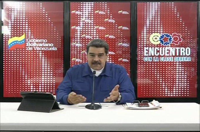 Maduro: España se transforma en el centro de la conspiración contra la paz de Venezuela