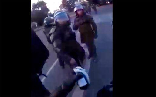 Joven detenido durante manifestaciones en la Universidad de Concepción acusa montaje de Carabineros y se querella con video probatorio