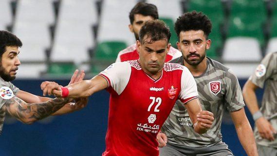 Suspenden a futbolista iraní por celebrar públicamente con gesto racista en pleno partido