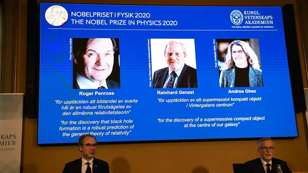 Nobel de la física destaca los aportes en el estudio de agujeros negros