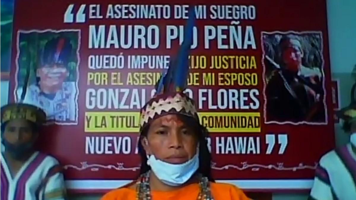 Indígenas en Perú denuncian ante CIDH violaciones de sus derechos