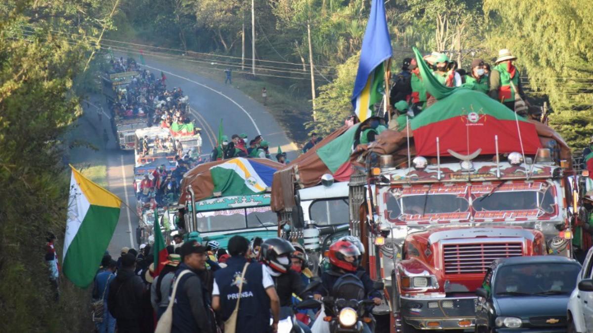 Indígenas de Colombia niegan que protesta que lideran esté infiltrada por exFARC