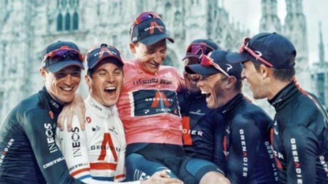 Ciclista Tao Geoghegan Hart se corona ganador en Giro de Italia