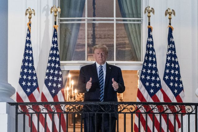 Donald Trump anuncia que no participará en el debate virtual porque se siente «perfecto» y no cree que él sea «contagioso»