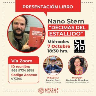 Afucap junto a Pancho Sazo invitan a presentación del libro