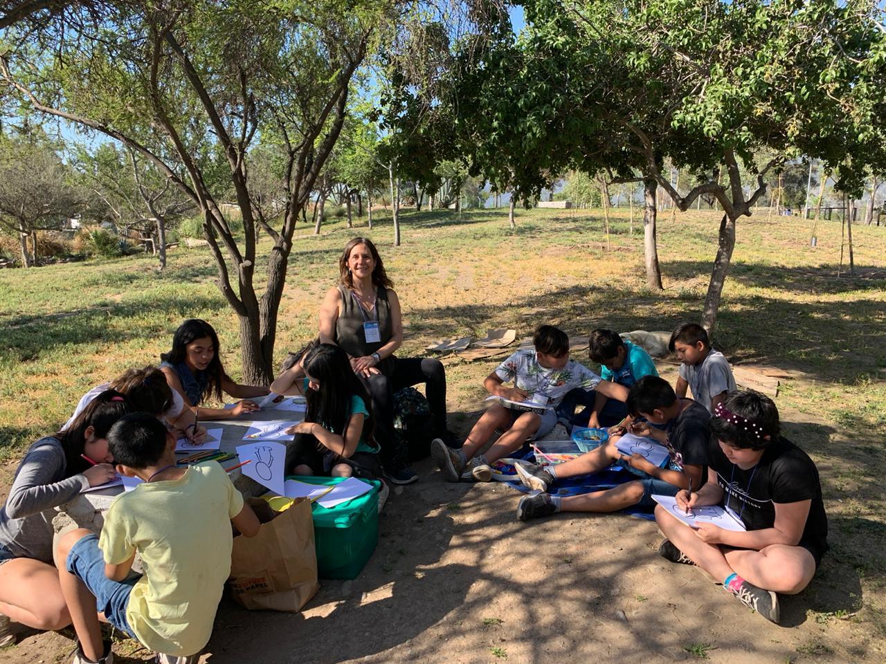 Levantan escuela en el campamento Dignidad de La Florida