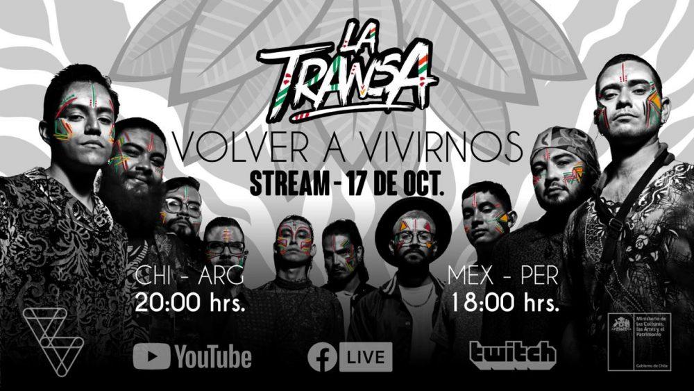 """""""Volver a vivirnos"""": La Transa estrena concierto en streaming este sábado"""