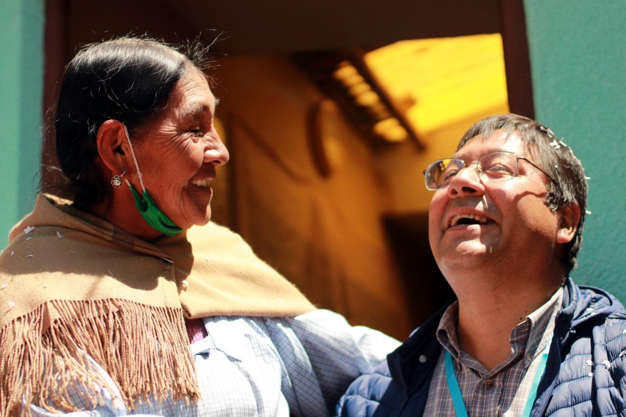 Con 55,2 % de los votos, proclaman oficialmente a Arce como ganador de las elecciones en Bolivia