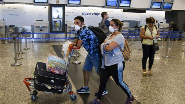Argentina habilitó ingreso vía aérea de turistas provenientes de países limítrofes