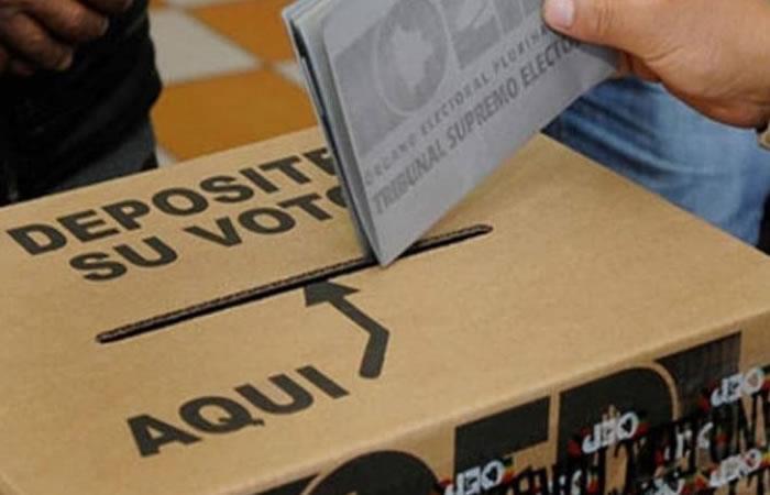 bolivia elecciones tse