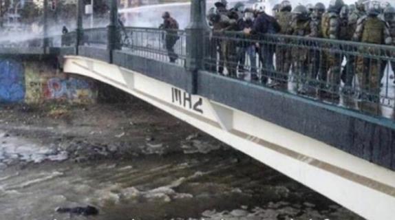 Académicas y académicos de la Universidad de Concepción rechazan violencia y violación de DD.HH. por parte de Carabineros