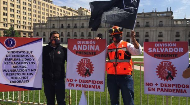 Mineros de Codelco denuncian despidos en pandemia y privatización encubierta