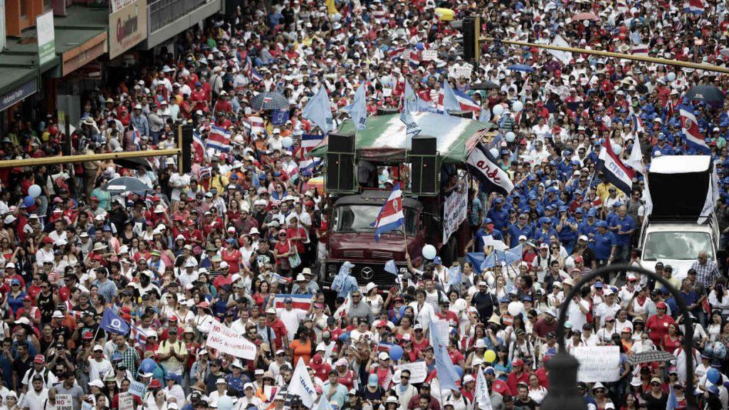 protestas CR
