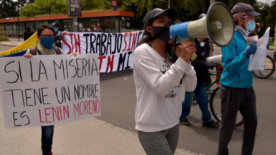 Ecuador: organizaciones convocan una gran movilización contra medidas económicas de Moreno
