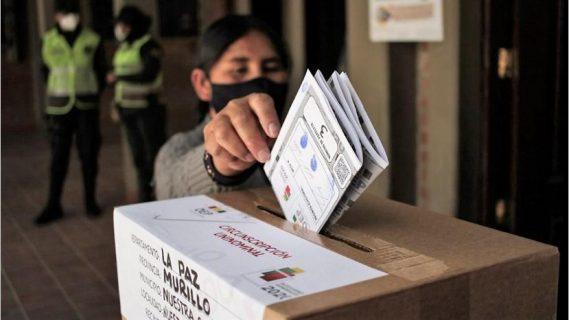 Así se desarrollan las elecciones generales de Bolivia 2020