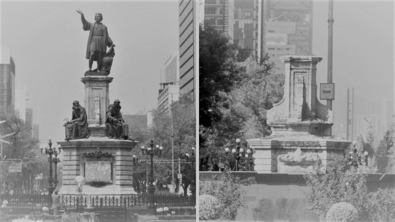 ¿Pionero del saqueo y el genocidio? Nueva polémica sobre estatuas de Colón